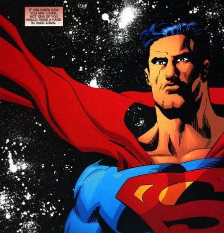 Anyone who says Garth Ennis hates Superheroes never read the issues where Superman crossed paths with Tommy Monaghan